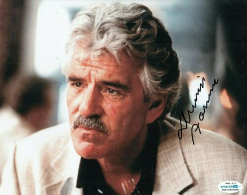 DENNIS FARINA signed (GET SHORTY) Movie 8X10 *Ray Bones Barboni* photo ACOA #2