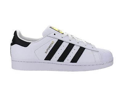 Adidas Superstar J GS White Black Gold C77154