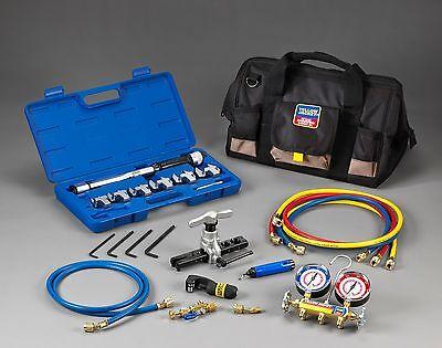 Yellow Jacket 60991 Mini-spit Tool Kit With R-22407c410a Heat Pump Manifold