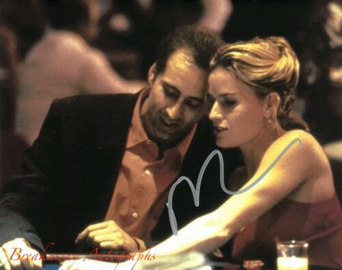 NICOLAS CAGE SIGNED 8x10 PHOTO PROOF COA AUTOGRAPHED FACE OFF