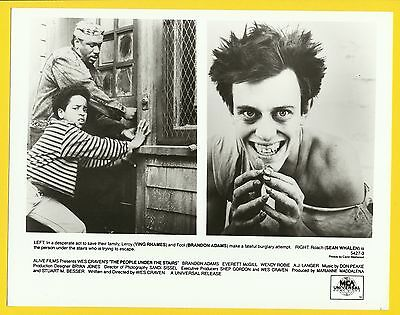 The People Under The Stairs Sean Whalen Publicity Movie Film Star Press Photo