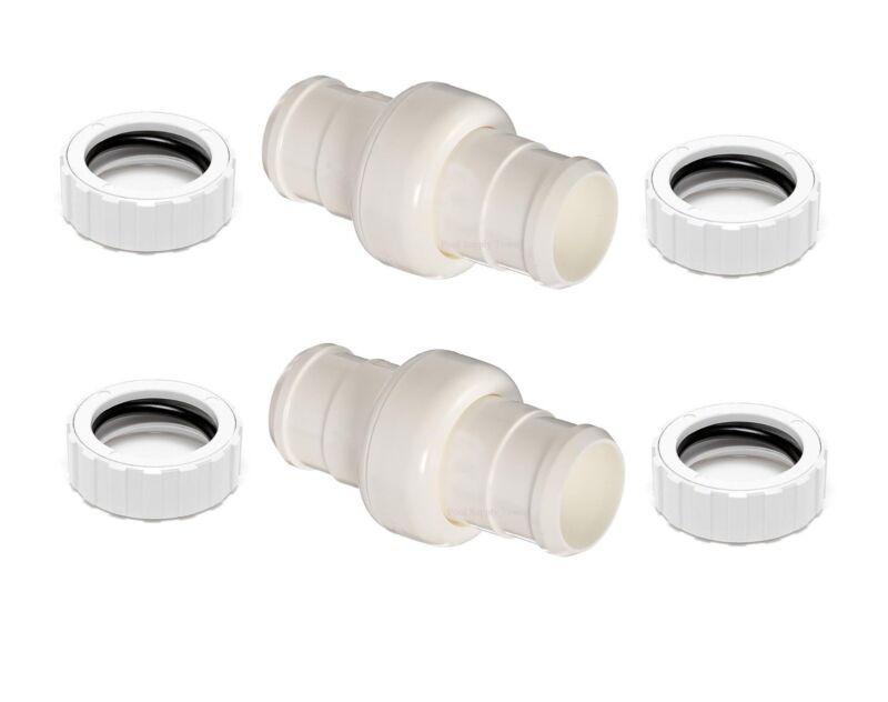 2 Pack Hose Swivel 9-100-3002 & Hose Nut 9-100-3109 for Polaris 360 Pool Cleaner