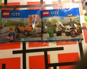 Lego city polybag neuf 30356 - 30357