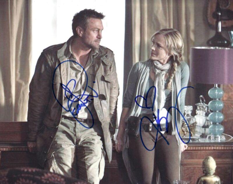 Defiance Julie Benz Grant Bowler Autographed Signed 8x10 Photo COA