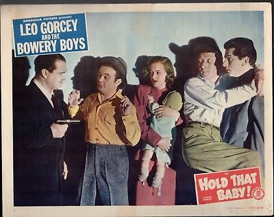 Leo Gorcey And The Bowery Boys Hold That Baby Orig 11X14 Lobby Card   1922