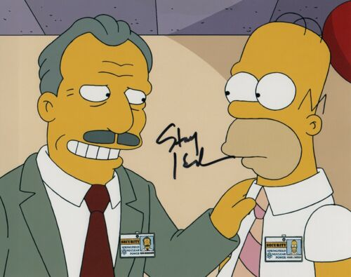 Stacy Keach Signed Autograph 8x10 Photo Up In Smoke THE SIMPSONS COA