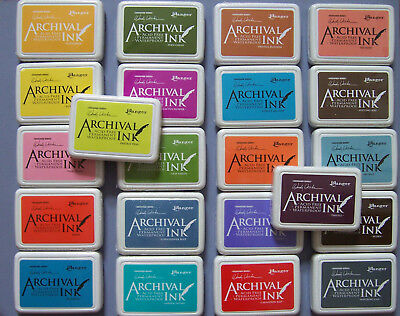 Ranger and Wendy Vecchi Archival Ink Stamp Pad  - Choose from 48 Inkpad Colors ()