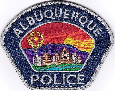 Albuquerque Police New Mexico patch New Mexico silver NEW