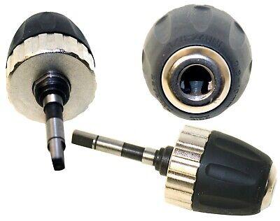 Nos 0.8-10mm Keyless Drill Chuck Converter W 38-24unf Hex Shank Sds Adaptor