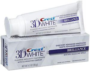 Crest-3D-Blanco-Brilliance-Blanqueamiento-Dental-Pasta-de-dientes-116ml-116g
