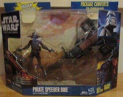 Star Wars Pirate Speeder Bike with Cad Bane