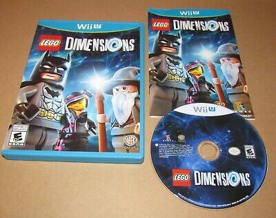Lego Dimensions (Game Only) for Nintendo Wii U Complete Fast Shipping!