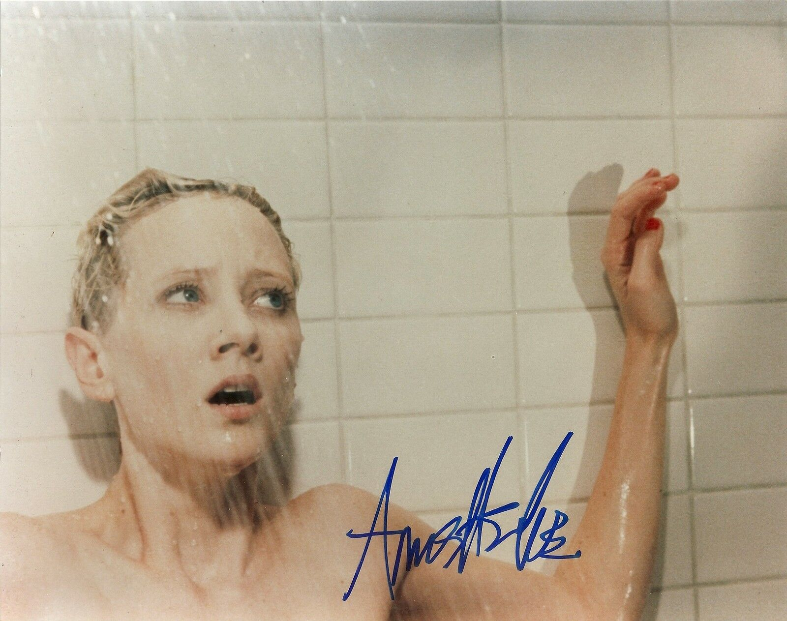 Anne Heche Psycho Authentic Signed 10X8 Photo AFTAL & UACC