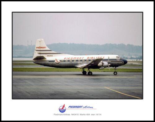 Piedmont Airlines Martin 404 11x14 Photo (JJ005RGEG11X14)