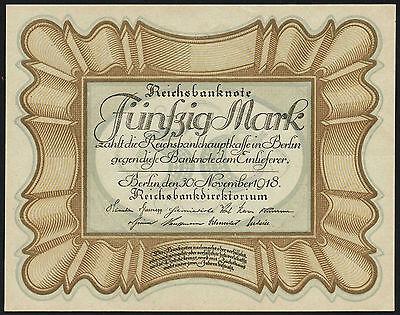 """Ro.057a 50 Mark 1918 """"Eierschein"""" (1)"""