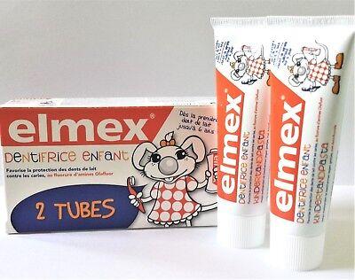 - Elmex Child toothpaste 2x 50ml