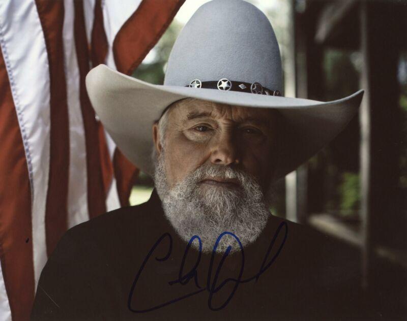 "Charlie Daniels ""The Devil Went Down to Georgia"" AUTOGRAPH Signed 8x10 Photo D"