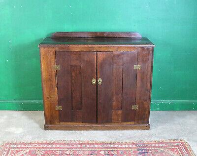 Dark Oak Vintage Cupboard, Cabinet, Sideboard, Kitchen, Lounge, Rustic