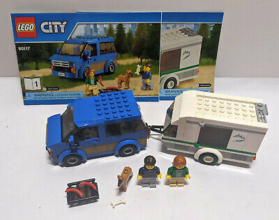 Lego City Van and Caravan Set 60117 Complete with Instructions