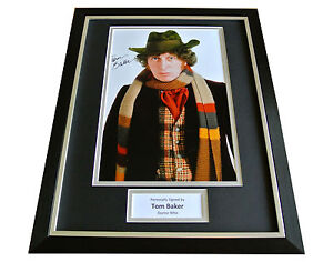 TOM-BAKER-GENUINE-HAND-SIGNED-FRAMED-AUTOGRAPH-PHOTO-DISPLAY-DOCTOR-WHO-COA