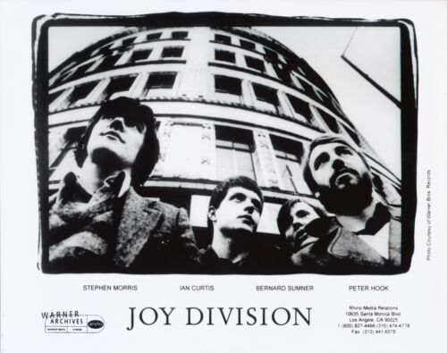 RARE Joy DIvision Post Punk Ian Curtis 8x10 Photo