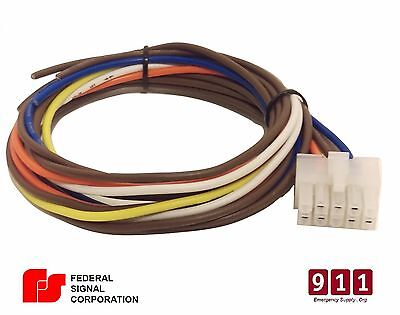 Federal Signal Pa300 10 Pin Wiring Cable Kit Rear Accessory Connector Power Plug