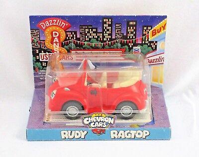 NIP Vintage Collectible Chevron Toy Cars - RUDY RAGTOP 1999