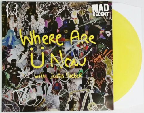 SKRILLEX DIPLO JACK U SIGNED WHERE ARE U NOW VINYL LP RECORD ALBUM W/COA EDM