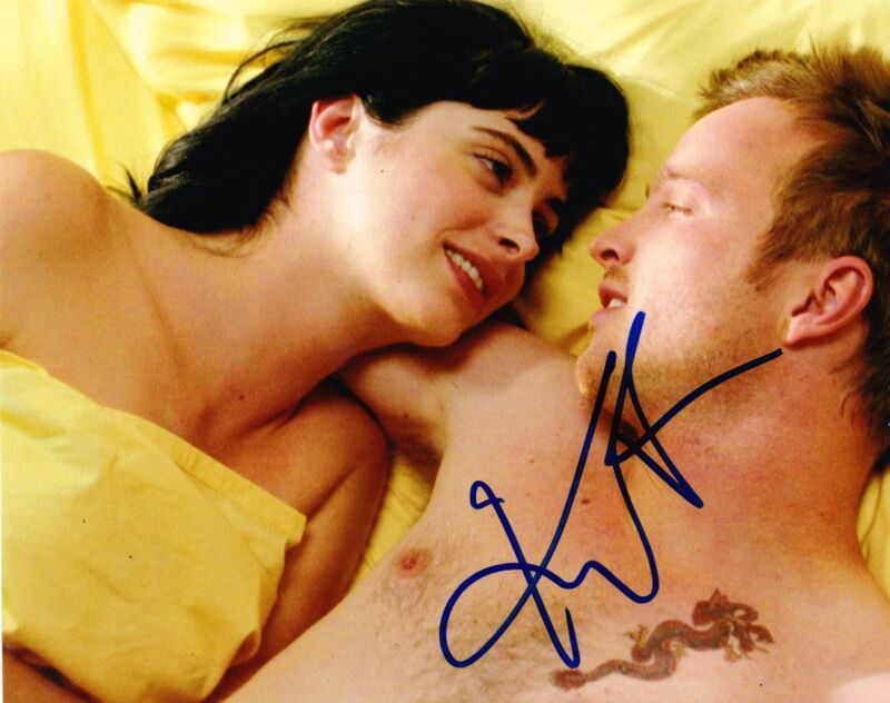 HOT SEXY KRYSTEN RITTER SIGNED 8X10 PHOTO BREAKING BAD AUTOGRAPH PROOF COA A
