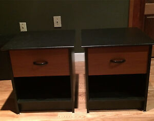 Pair of IKEA nightstand or end tables excellent condition