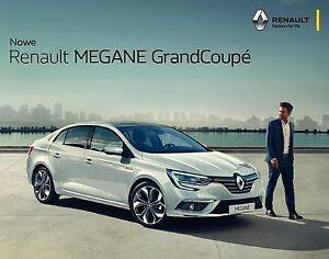 Renault Megane Sedan 11 / 2016 Broschüre brochure Grand Coupe - <span itemprop='availableAtOrFrom'>Warschau, Polska</span> - Renault Megane Sedan 11 / 2016 Broschüre brochure Grand Coupe - Warschau, Polska