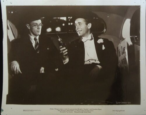 Stand-In 8 x 10 Still 1937 Humphrey Bogart, Leslie Howard