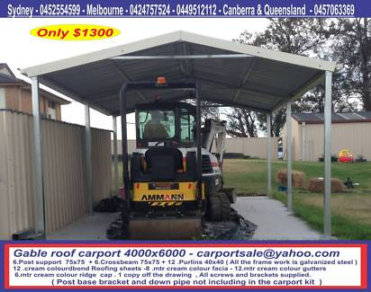 Brand new gable or flat roof 4 x 6 $ 1300 or 4 x 9 $ 2000 Prestons Liverpool Area Preview