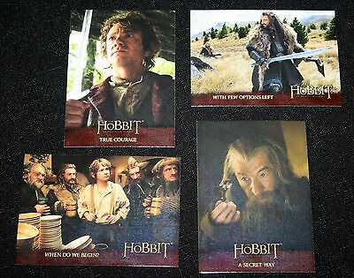 Cryptozic THE HOBBIT An Unexpected Journey Complete Base Set Cards 1-101