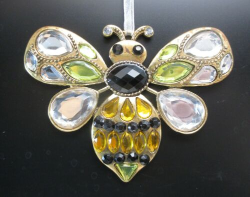 zzm Sweet honey bumble bee ORNAMENT CRYSTAL EXPRESSIONS Ganz