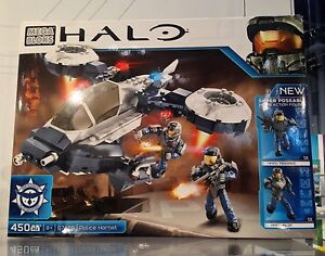 Mega Bloks Halo Police Air Support Hornet/ 97429 Condition A1