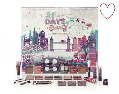 Q-Ki 24 Days Of Beauty Makeup Cosmetics Christmas Advent Calendar Large London
