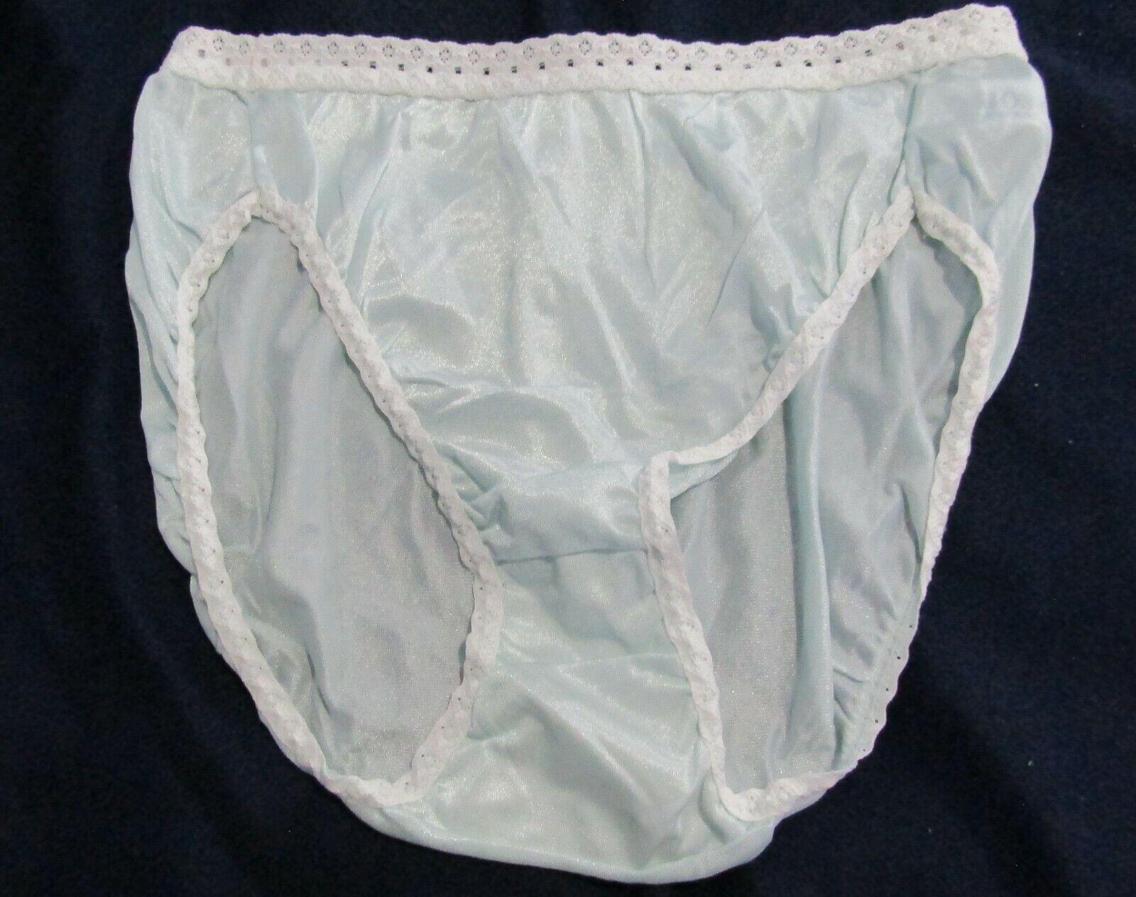 7-8 L NWT 6 pack SIMPLY VERA WANG Intimates BLACK HI CUT Lace Trim PANTY Sz