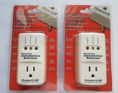 2 Lot Pack Voltage Protector Brownout Surge Refrigerator 1800 Watts Appliance