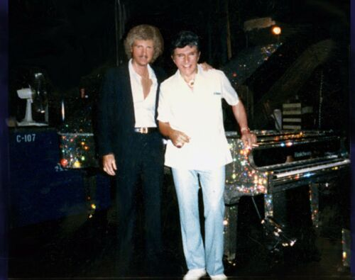 Liberace & Banjoist Ronnie Jackson Photo