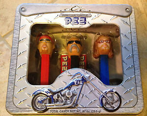 Pez-Orange-County-Choppers-3-Collectible-Dispensers-Mint-in-Sealed-Package-MISP