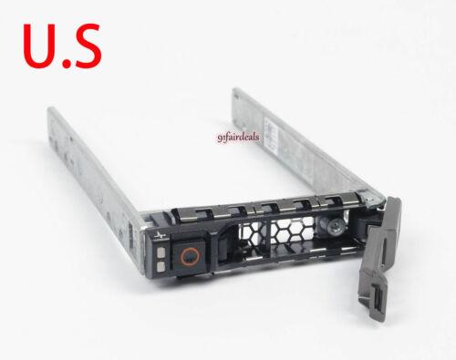 "2.5"" HDD Caddy Tray Dell R920 R720XD R620 R630 R715 R810 R610 R430 R930 0G176J"