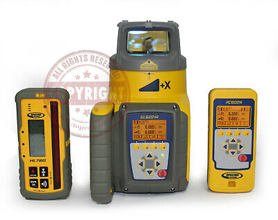 Spectra Precision Gl622ir Hl760 Self-leveling Dual Slope Laser Leveltrimble