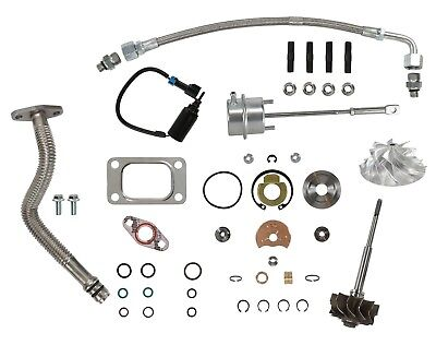 HE351CW Master Turbo Rebuild Kit Billet Wheel For 04.5-07 5.9L Dodge Ram Cummins comprar usado  Enviando para Brazil