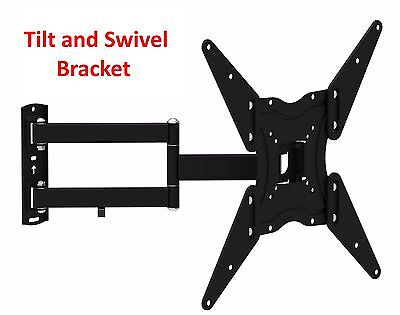 FULL MOTION ARTICULATING SMART LCD LED PLASMA TV WALL MOUNT For 32-50 INCH