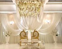Luxury Wedding & event decorator, full set up & take done servic