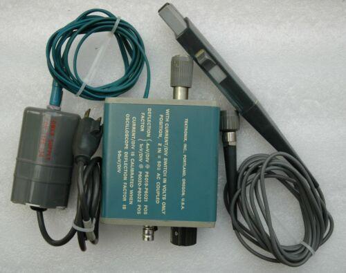 Tektronix P6021 120Hz-60MHz Current Probe w/TYPE 134 Current Amplifier