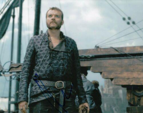 PILOU ASBAEK signed (GAME OF THRONES) Euron Greyjoy 8X10 photo *PROOF* W/COA #1