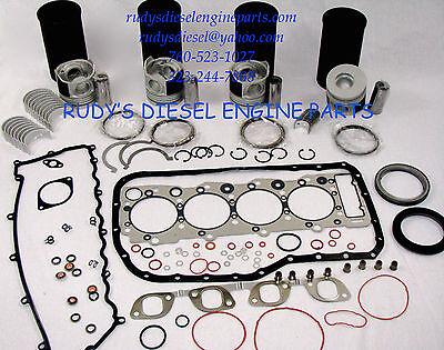 Isuzu NPR NQR 98-04 diesel 4.8 4HE1 4HE1T diesel premium engine kit + oil pump