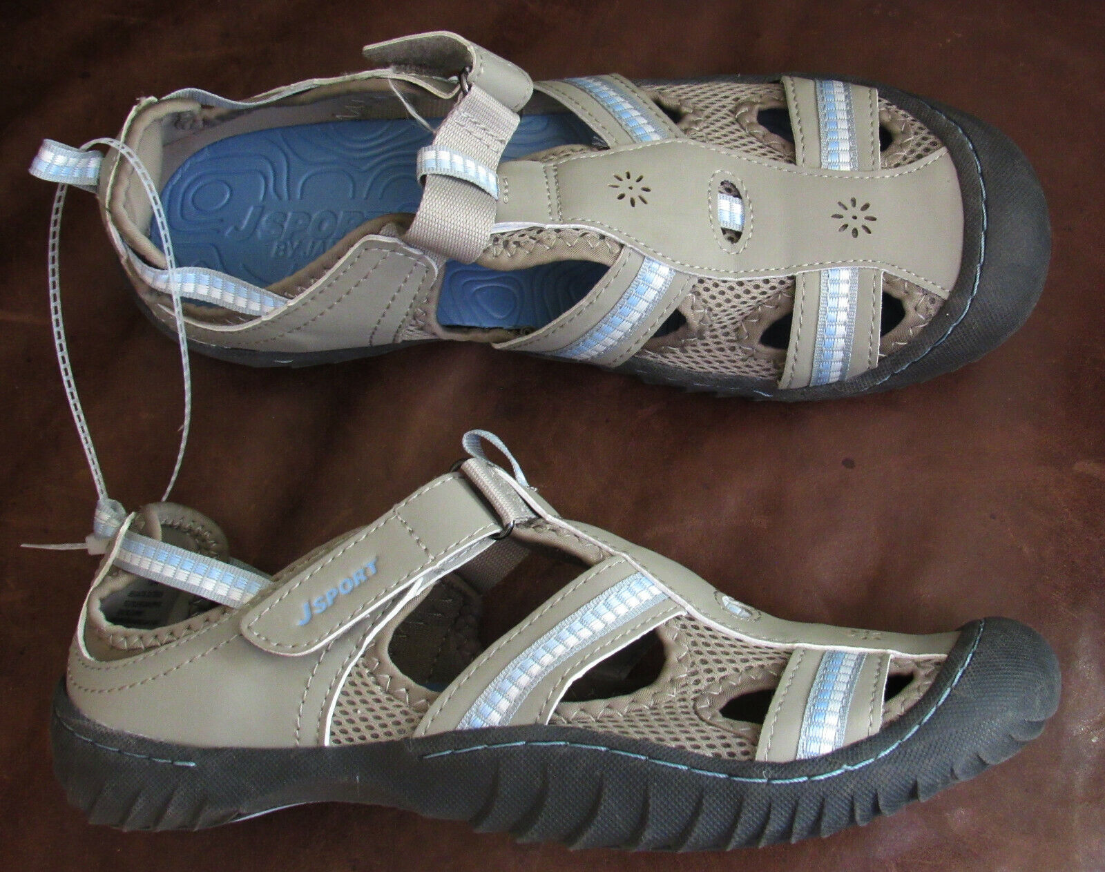 Jsport by Jambu Regatta fisherman sandals athletic shoes NEW